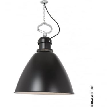 7380 Pendant, Small, Black