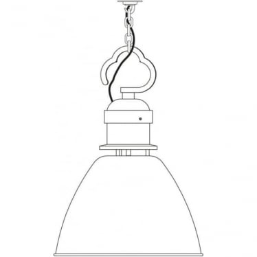 7380 Pendant, Small, Light Grey