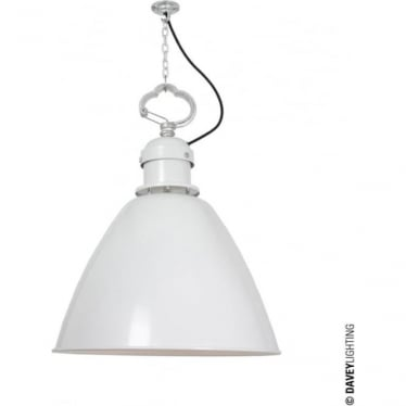 7380 Pendant, Small, White