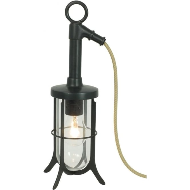 Davey Lighting 7523 Ship's Well Glass Light, Weathered Brass, Clear Glass