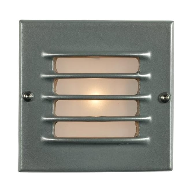 Davey Lighting 7601 Recessed Step Light, Low Voltage, Transformer & Back Box, Painted Aluminium, IP54