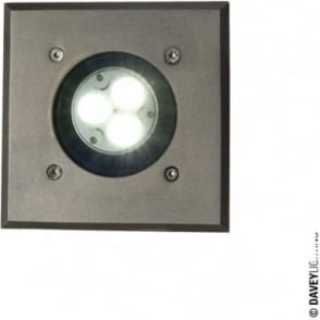 7602 Uplight for Submerged or Surface use, MR16, Weathered Brass