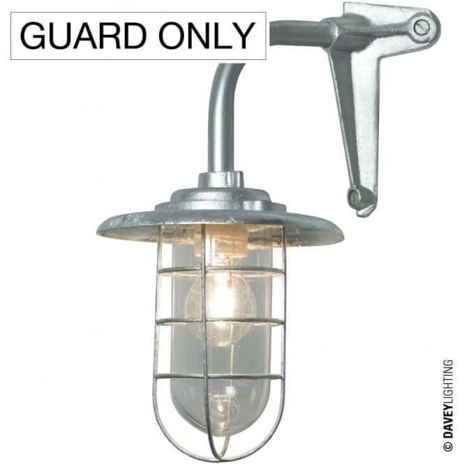 Davey Lighting 7677 Guard, Galvanised, 100W