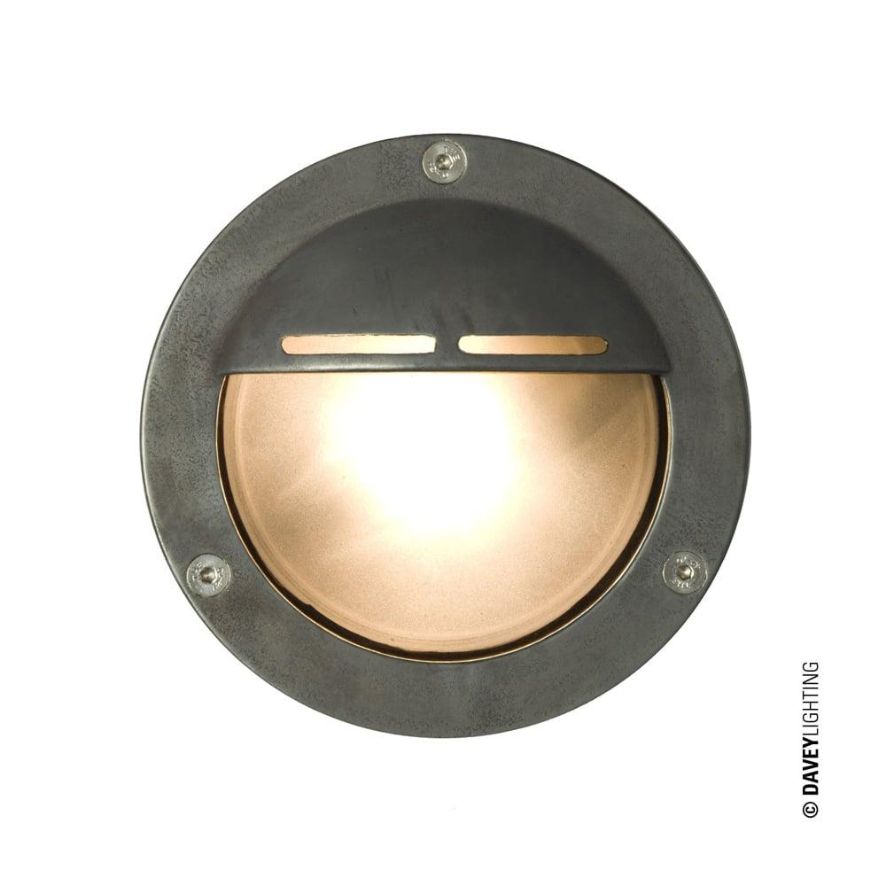 Davey lighting davey lighting 8035 miniature round bulkhead eyelid 8035 miniature round bulkhead eyelid shield g9 weathered brass aloadofball Image collections