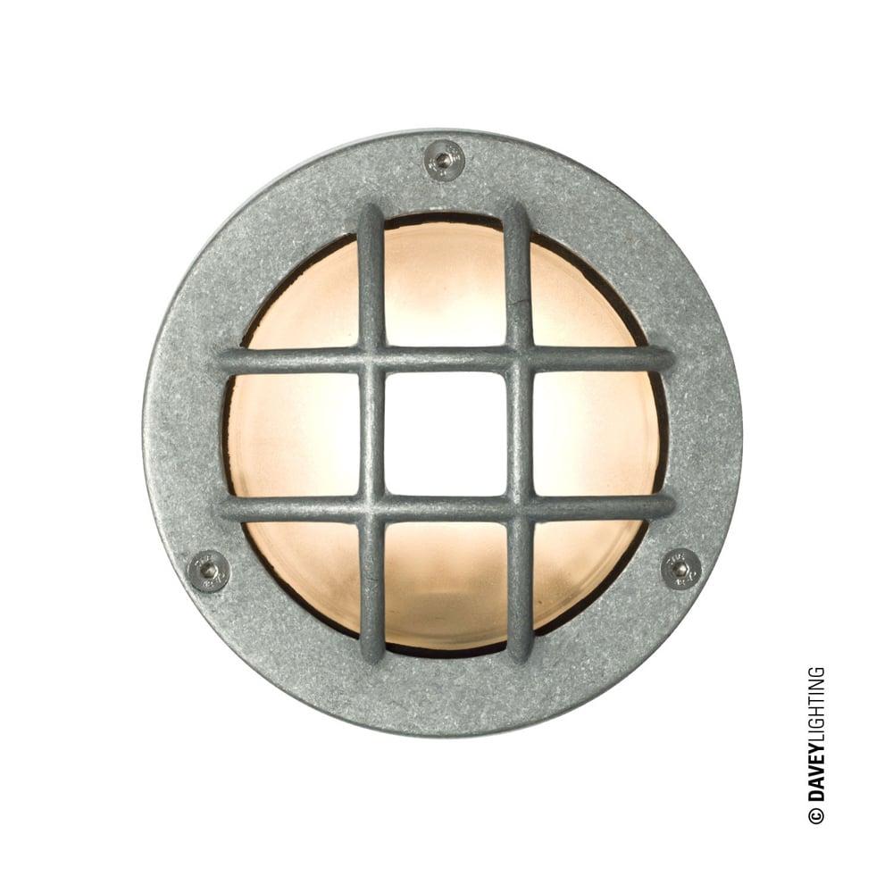 Davey lighting davey lighting 8038 miniature round bulkhead cross 8038 miniature round bulkhead cross guard gx53 aluminium mozeypictures Images