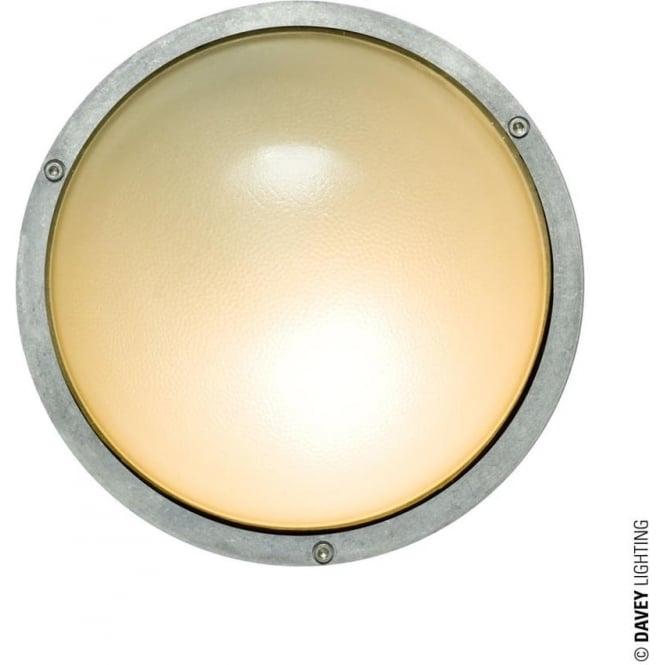 Davey Lighting 8134 Circular Bulkhead, Aluminium, E27