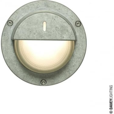 8591 Wall, Ceiling or Step Light, Eyelid Shield, Aluminium, GX53