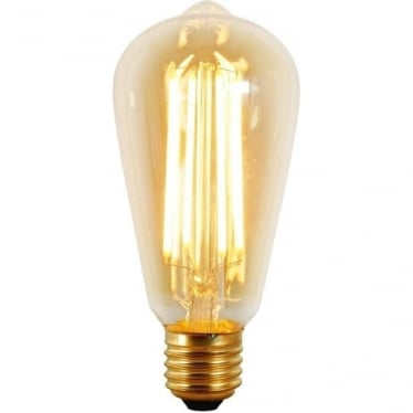 9905/LED Squirrel Cage Lamp, LED, 4W, ES