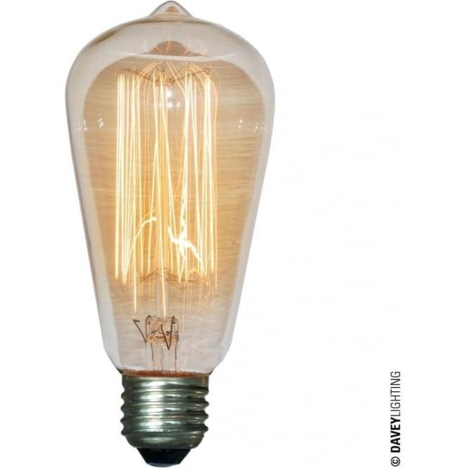 Davey Lighting 9905 Squirrel Cage Lamp, 60W, ES