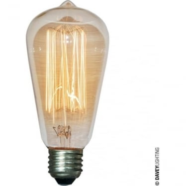 9905 Squirrel Cage Lamp, 60W, ES