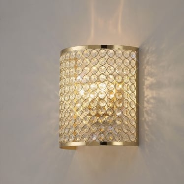 Ava 2 light wall - French gold