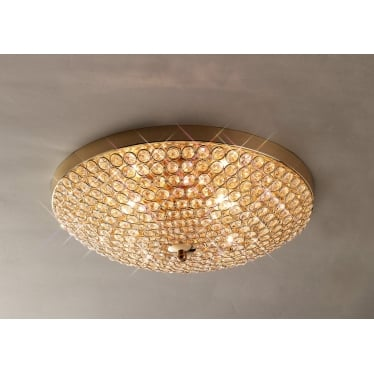 Ava 4 light ceiling - French gold