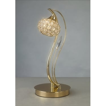 Leimo 1 Light Table Lamp - French Gold