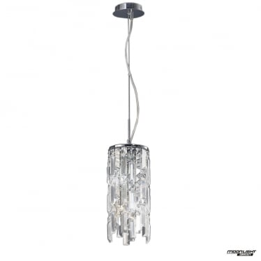 Maddison 2 Light Pendant - Polished Chrome