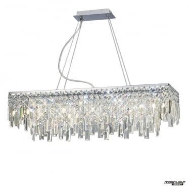 Maddison 6 Light Pendant - Polished Chrome