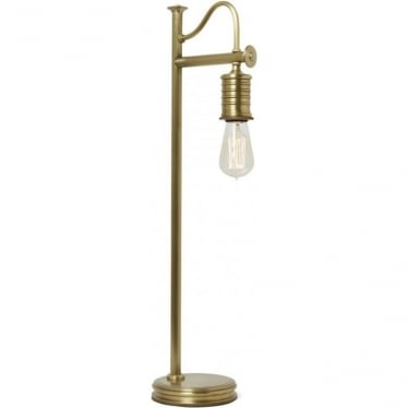 Douille Table Lamp Aged Brass