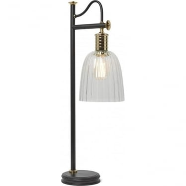 Douille Table Lamp Black/Polished Brass