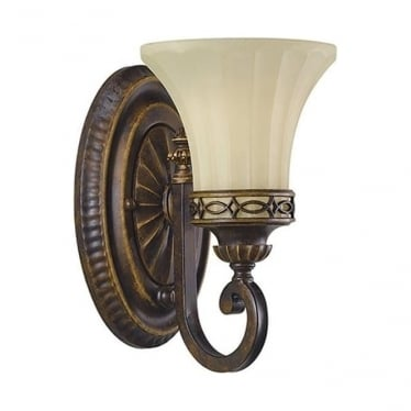 Drawing Room Single Wall Light Walnut