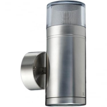Dual Lighter GU10 - stainless steel- MAINS