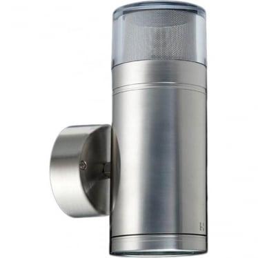 Dual Lighter GU10 - stainless steel- MAINS