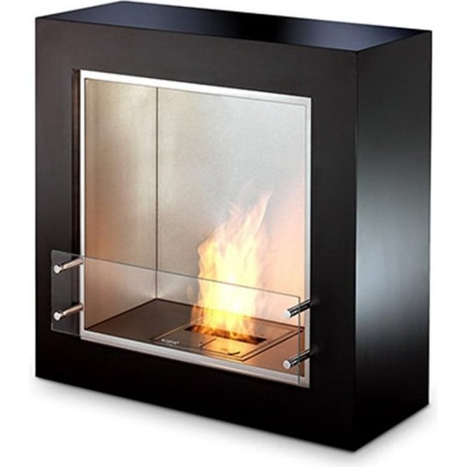 EcoSmart Fire Cube Freestanding Designer Fireplace EcoSmart Fire From Moo