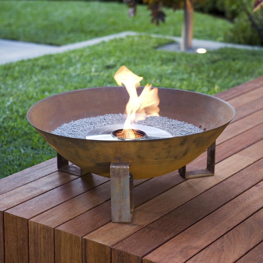 ecosmart fire dish outdoor fireplace ecosmart fire from