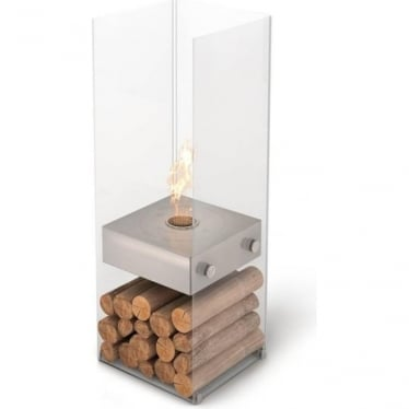 Ghost - Free-standing Designer Fireplace