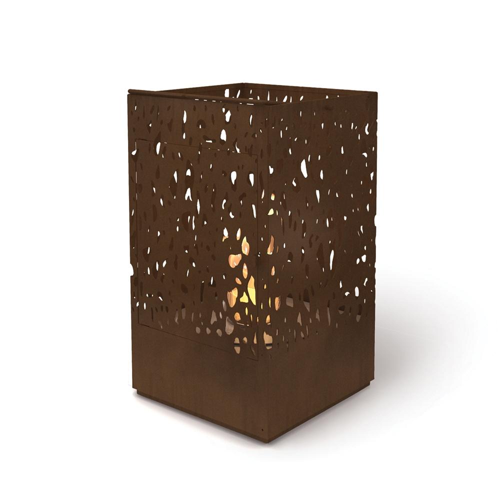 Ecosmart fire ecosmart fire lantern outdoor fireplace exterior lantern outdoor fireplace mozeypictures Gallery