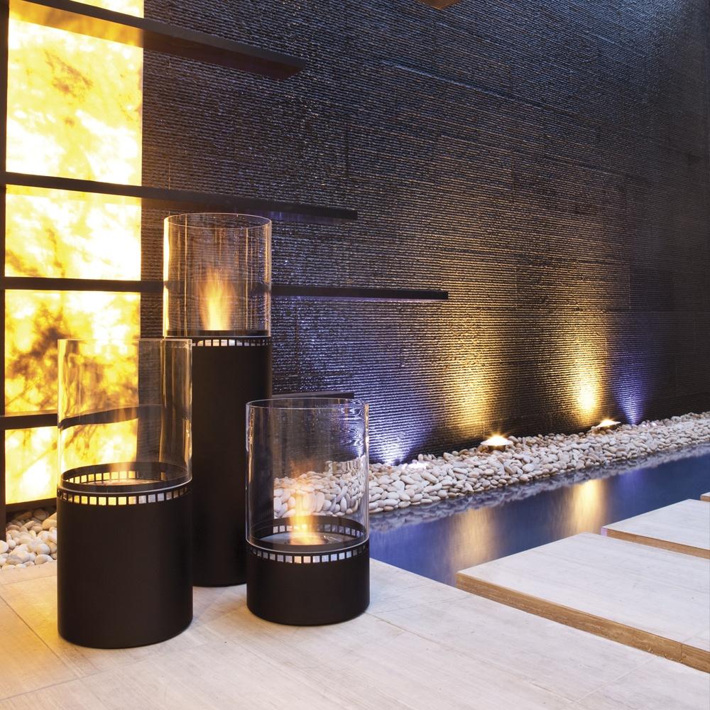 ecosmart fire lighthouse outdoor fireplace ecosmart. Black Bedroom Furniture Sets. Home Design Ideas