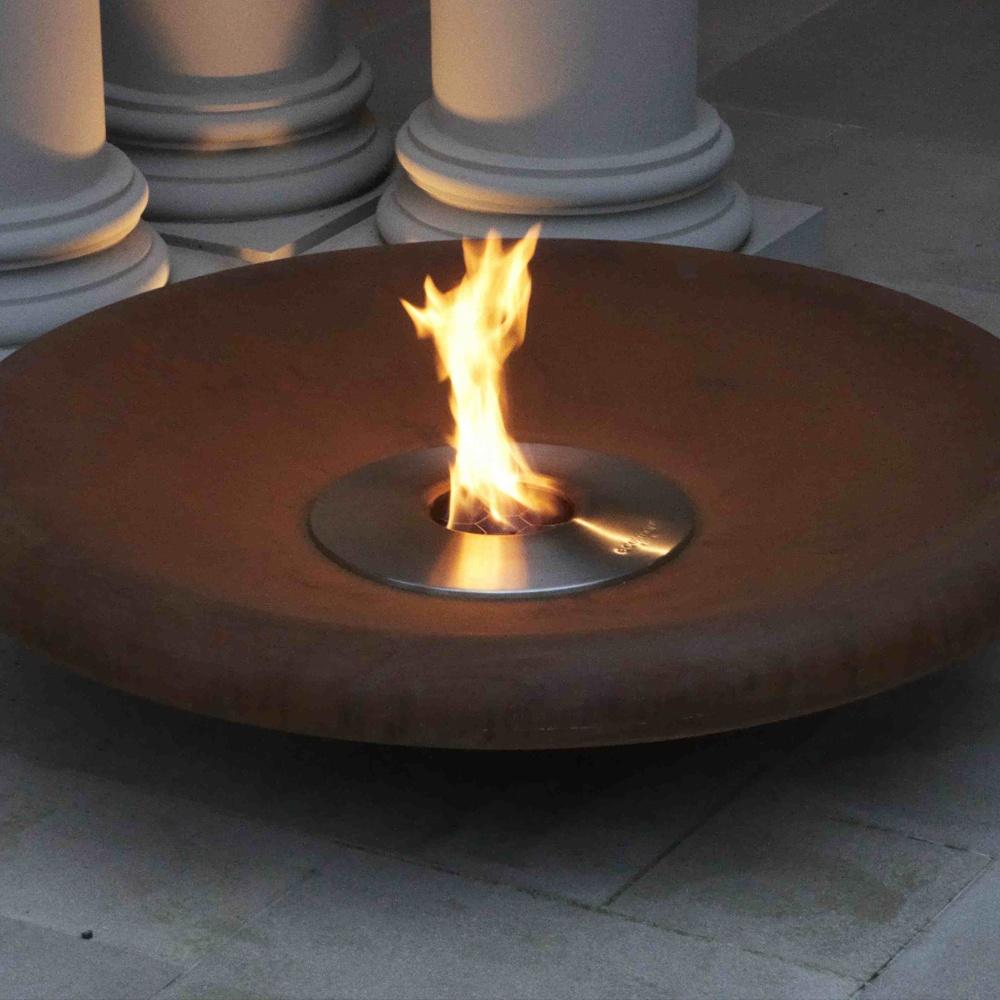 ecosmart fire outdoors bioethanol burner ab series. Black Bedroom Furniture Sets. Home Design Ideas