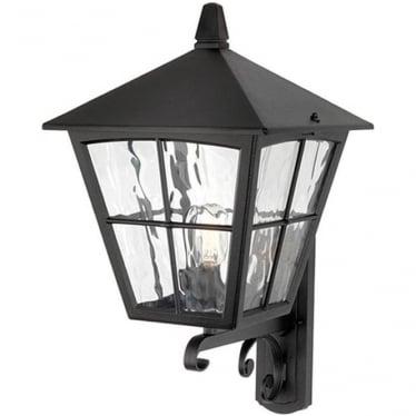 Edinburgh Wall Up Lantern - Black