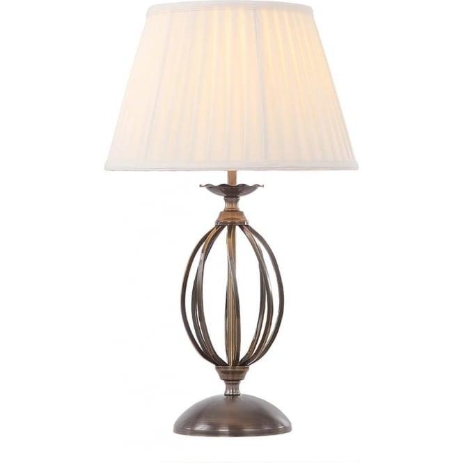 Elstead Lighting Artisan Aged Brass Table Lamp