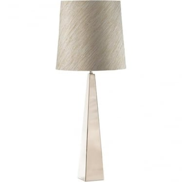 Elstead Lighting Ascent Polished Nickel Table Lamp - Base only