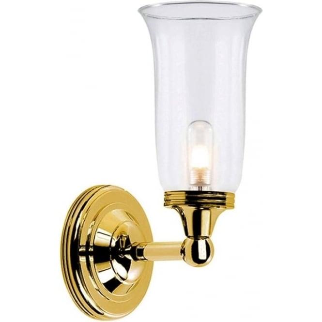 Elstead Lighting Austen Single Wall Light Polished Brass