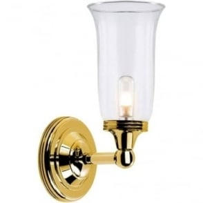 Austen Single Wall Light Polished Brass