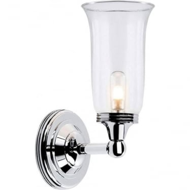 Austen Single Wall Light Polished Chrome