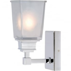 Aylesbury Single Wall Light Polished Chrome