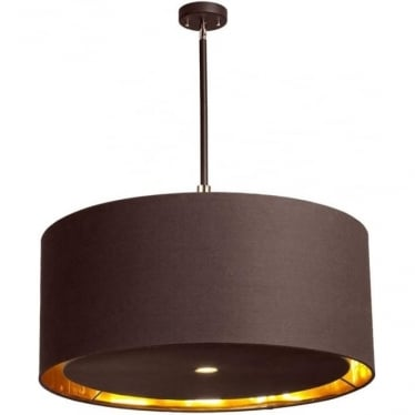 Balance Extra Large Pendant Brown/Polished Brass