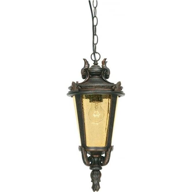 Elstead Lighting Baltimore Chain Lantern Large - Weathered Bronze
