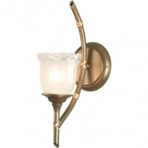 Bamboo Single Wall Light
