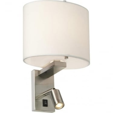 Belmont Wall Light Brushed Nickel