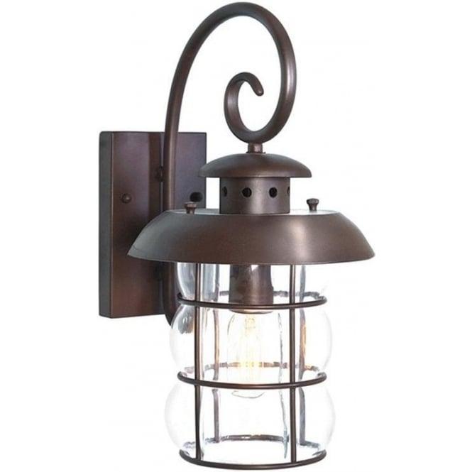 Elstead Lighting Bibury Wall Lantern - Old Bronze