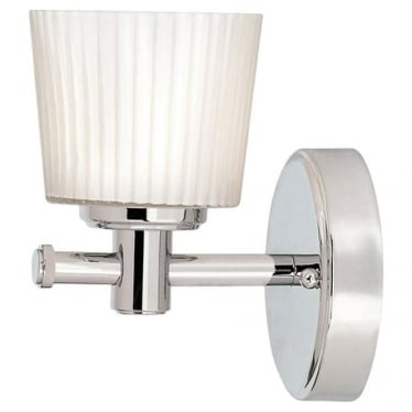 Binstead Single Wall Light Polished Chrome