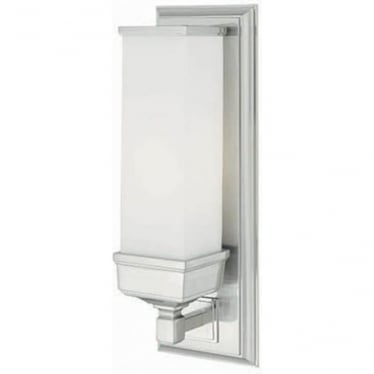 Cambridge Single Wall Light Polished Chrome