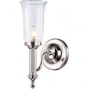 Carroll Single Wall Light Polished Nickel