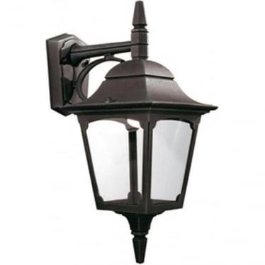 Chapel Down Wall Lantern - Black