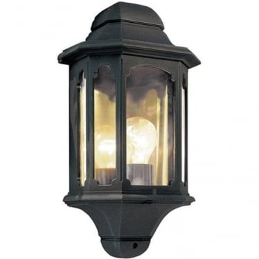 Chapel Half Lantern - Black