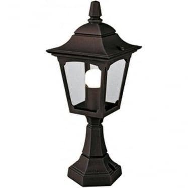 Chapel Mini Pedestal Lantern - Black
