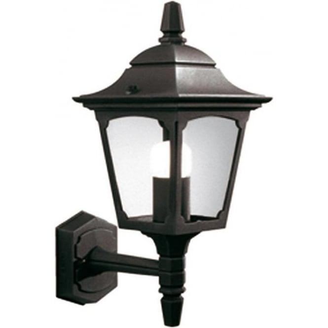 Elstead Lighting Chapel Mini Up Wall Lantern - Black