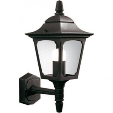 Chapel Mini Up Wall Lantern - Black